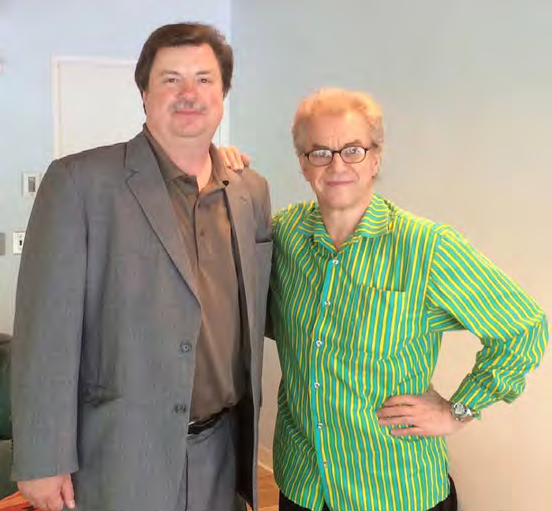 ICSOM Chairperson Bruce Ridge (left) and Minnesota Orchestra Music Director Osmo Vänskä. In June, Ridge travelled to Minneapolis where he also met with the full Minnesota Orchestra, Local 30-73 President Brad Eggen, the new Minnesota Orchestra board chair, and many supporters within the community.