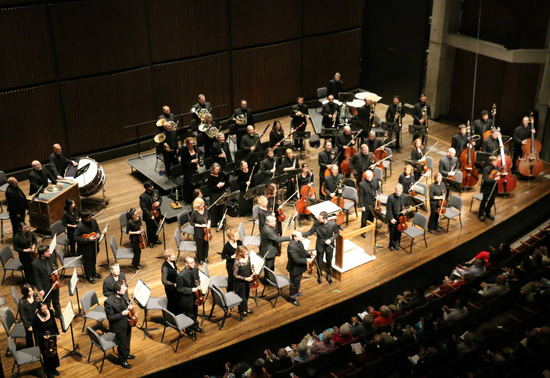Symphoria in the John H. Mulroy Civic Center in Syracuse, October 2014Photo credit: Marc Ramos
