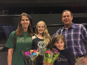 The author with his family: Jessica Nance (KCS violist) and children Grace and Robert