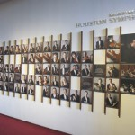 Houston Symphony Portrait Wall