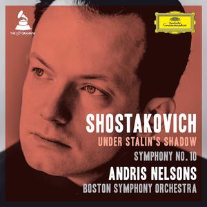BSO Nelsons Shostakovich 10 Cover ArtWEB