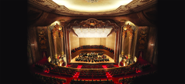 An artist's rendering of the renovated theater Photo credit: Courtesy of the Milwaukee Symphony Orchestra